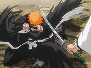 Ichigo stops Aizen