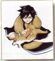 Tatsuki como Shinigami