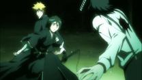 Rukia progiendo a Ichigo
