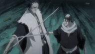 Zaraki vs Byakuya