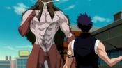 Ayon se enfrenta a Hisagi