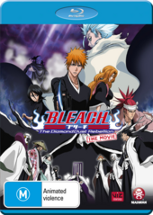 Bleach The DiamondDust Rebellion Blu-Ray Cover