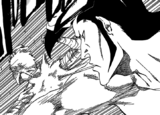 R520 Ichigo uderzony