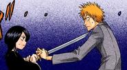 1Ichigo and Rukia prepare