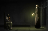 Ep. 337 - Urahara & Kon finding Yushima at the Nest of Maggots