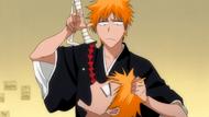 O314 Ichigo wrzuca Gikongan do swojego ciała