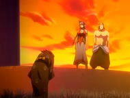 O63 Rukia prosi Kukaku i Ganju o wybaczenie