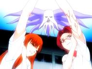 O13 Numb Chandelier zmusza Chizuru do złapania Orihime