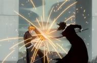 236Ichigo and Zangetsu clash