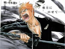 Ichigo Bankai Breaking Mask
