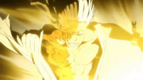 Kokuto recibe el ataque de Ichigo