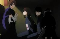 Shu and Rukia rescue Rurichiyo's servants-1-