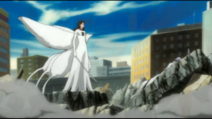 Aizen and a Deafeted Gin