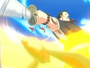 Jiroubou daña a Tsubaki