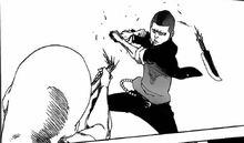 Moe rompe a Hōzukimaru