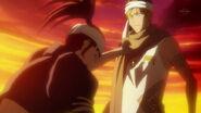 Renji begging Ichigo to save Rukia