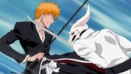 Rudobōn attacking Ichigo