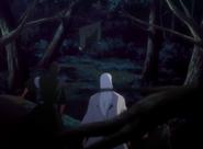 49 Ukitake, Rukia i Kaien widzą ubranie Miyako