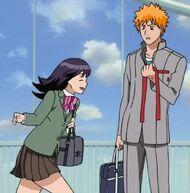 Ichigo meets senna again