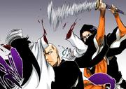 Yumichika corta el brazo a Bambietta