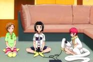 Hebi Plays Games With Yuzu And Karin