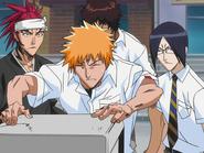O65 Ichigo, Renji, Uryu i Sado nie zdają kolejnego polecenia porywacza