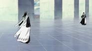 Byakuya spotyka swoje Reigai