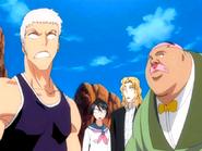 Odc126 Kensei Hachi Lisa i Rose zaskoczeni widokiem Inoue