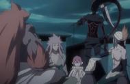 265Saru, Hebi, and Kazeshini meet