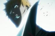 Ichigo cut by Inaba's Zanpakuto