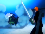 O10 Ichigo kontra Demi-Hollow