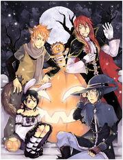 Bleach Halloween by ladycallisto