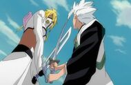 Hitsugaya & Harribel - Sword Battle