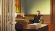 Hitsugaya tells Renji of the proposal