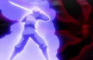 Ichigo breaks free from Saiga's mirror