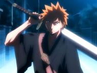 O1 Ichigo jako Shinigami