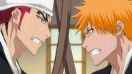Renji and Ichigo Spar