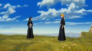 Fade to Black escena final Ichigo y Rukia