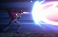 Sado nullifies the Reigai's attack