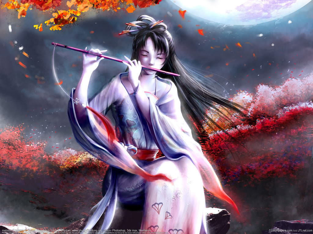 image - wallpaper-beautiful-anime-girl-free-wallpapers | bleach
