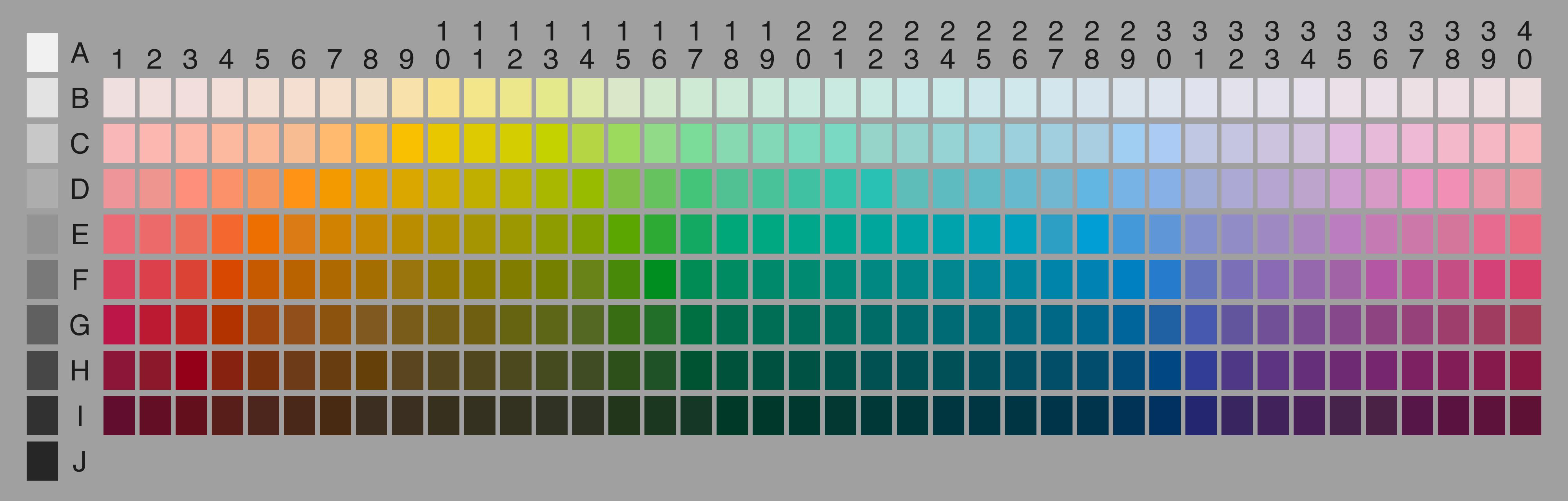 color chart online - Carnaval.jmsmusic.co