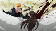 Ichigo defeats Aizen