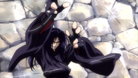 Sasori attacking