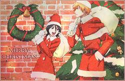 Christmas ichigo rukia