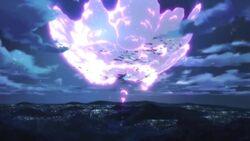 Rift explosion
