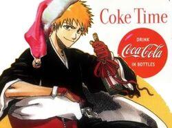 Ichigo coke hat