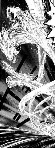 Akira's Bankai attack