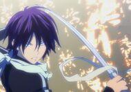 Suzaku holding sword