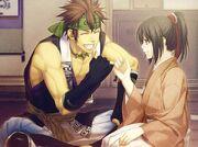 Shin and Yukimura