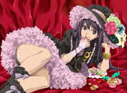 Isshou dresses up as Yuzuru